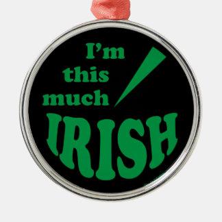 I'm This Much Irish Ornaments