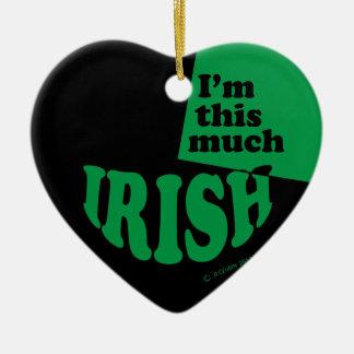 I'm This Much Irish Christmas Tree Ornament