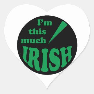 I'm This Much Irish Stickers