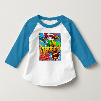I'm Three Comic Book T-Shirt