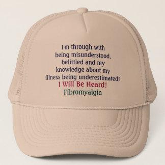 I'm through withbeing misunderstood,belittled a... trucker hat