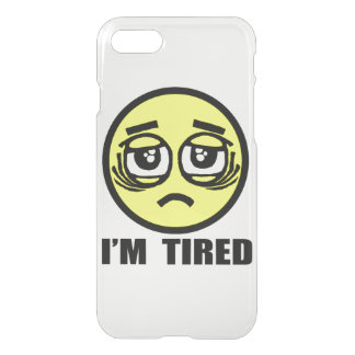I'm tired iPhone 8/7 case