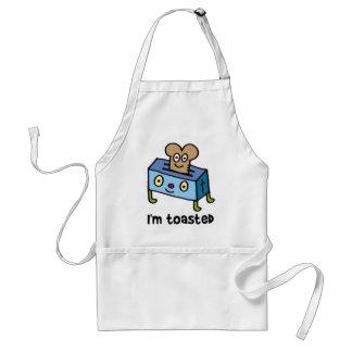 I'm toasted standard apron