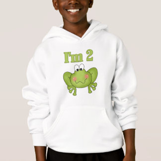 I'm Two-Green Frog Tshirts and Gifts