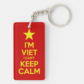 I'm Viet I Can't Keep Calm Key Ring