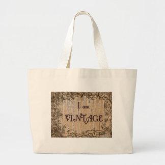 I'm Vintage Large Tote Bag