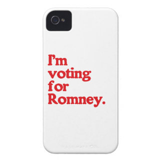 I'M VOTING FOR ROMNEY Case-Mate iPhone 4 CASE