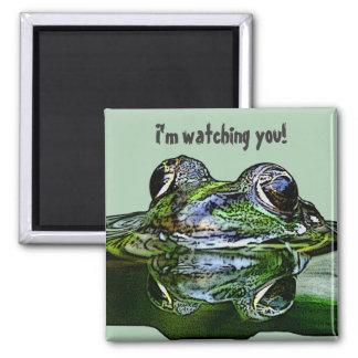 I'm watching you! fridge magnet