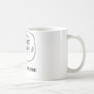 I'm watching you - meme basic white mug