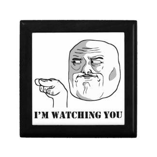 I'm watching you - meme jewelry box