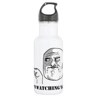 I'm watching you - meme 532 ml water bottle