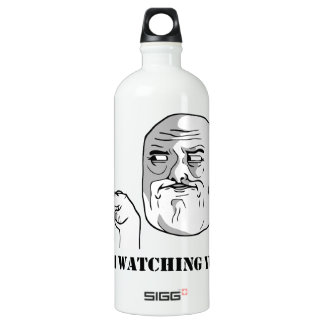 I'm watching you - meme SIGG traveller 1.0L water bottle