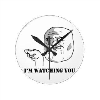 I'm watching you - meme wallclock