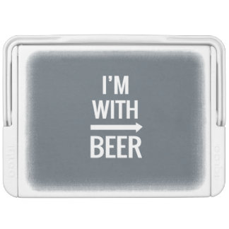 I'm With Beer Cooler