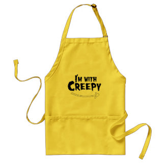 I'M WITH CREEPY.png Standard Apron
