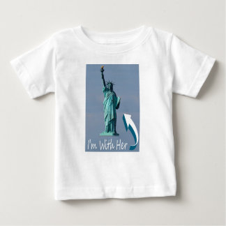I'm With Her! Baby T-Shirt