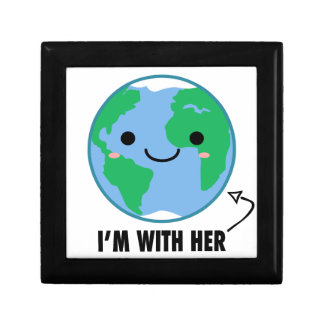 I'm With Her - Planet Earth Day Gift Box