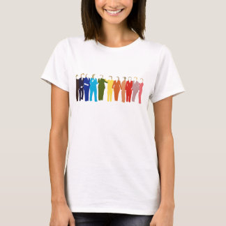 I'm With Her: Rainbow T T-Shirt
