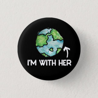 im with her science 3 cm round badge
