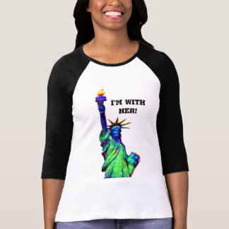 I'm with her Statue of Liberty T-Shirt