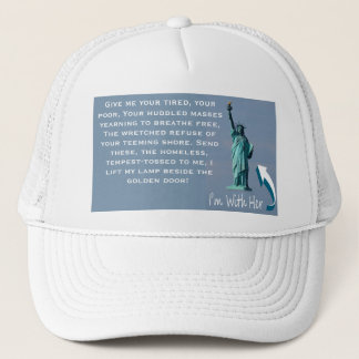I'm With Her! Trucker Hat