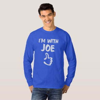 I'm With Joe long sleeve t-shirt - Blue