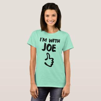 I'm With Joe Woman's shirt - Clear Mint