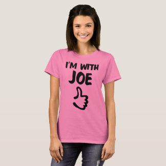 I'm With Joe Woman's shirt - Pink