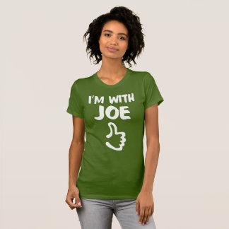 I'm With Joe Women's Fine Jersey T-Shirt - Olive
