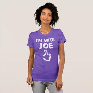 I'm With Joe Women's Fine Jersey T-Shirt - Purple
