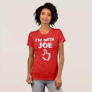 I'm With Joe Women's Fine Jersey T-Shirt - Red