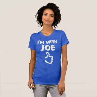 I'm With Joe Women's Fine Jersey T-Shirt - Royal
