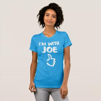 I'm With Joe Women's Fine Jersey T-Shirt - Teal