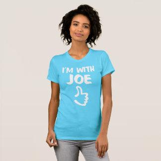I'm With Joe Women's Fine Jersey T-Shirt Turquoise