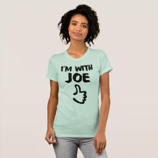 I'm With Joe Women's Fine Jersey TShirt - Sea Foam