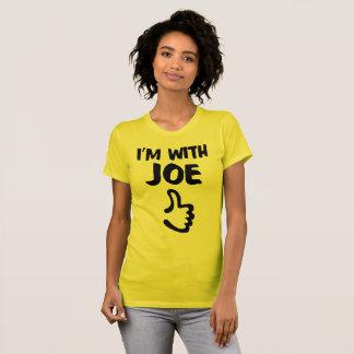 I'm With Joe Women's Fine Jersey TShirt - Sunshine