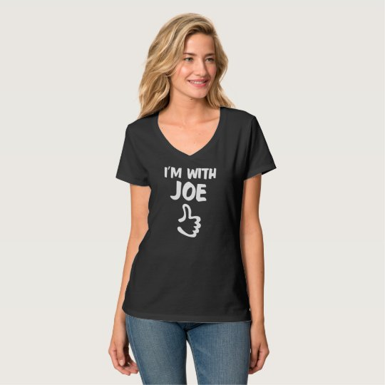 I'm with Joe Women's Nano V-Neck T-Shirt - Black