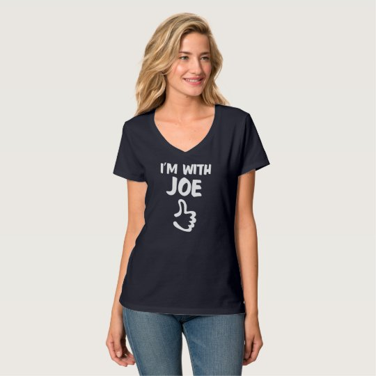 I'm with Joe Women's Nano V-Neck T-Shirt - Navy