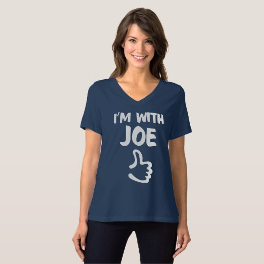 I'm with Joe Women's Relaxed Fit tshirt - Navy