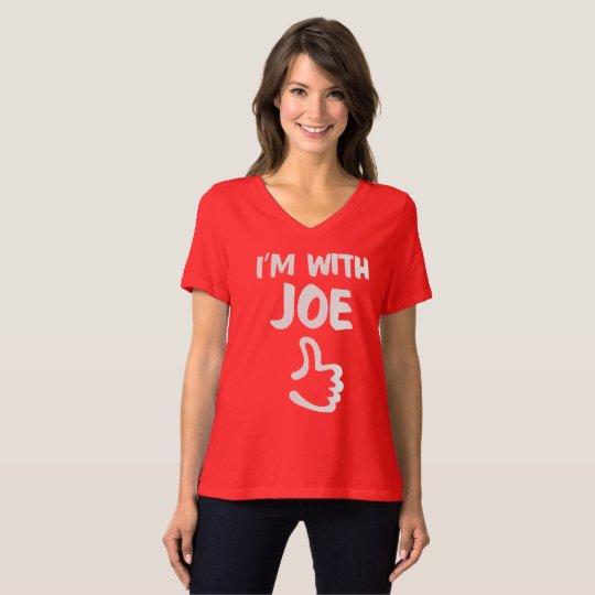 I'm with Joe Women's Relaxed Fit tshirt - Red