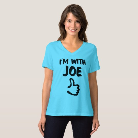 I'm with Joe Women's Relaxed Fit tshirt - Teal