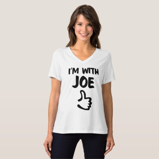 I'm with Joe Women's Relaxed Fit tshirt - White