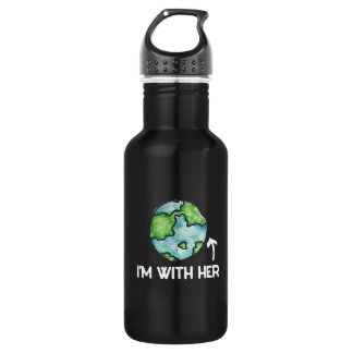I'm with mother earth day 532 ml water bottle