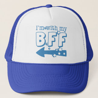 I'm With My BFF (left) Trucker Hat