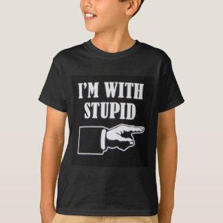 Im-With-Stupid Tshirt
