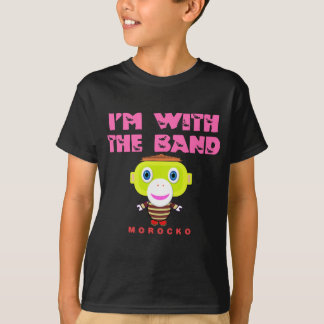 I'm With The Band-Cute Monkey-Morocko T-Shirt