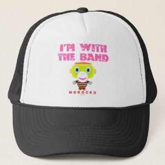 I'm With The Band-Cute Monkey-Morocko Trucker Hat