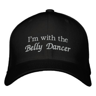 I'm with the Belly Dancer Embroidered Hat