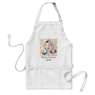 I'm with the Bride Standard Apron