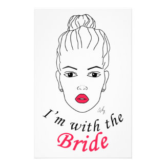 I'm with the Bride Stationery